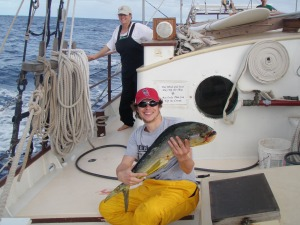 Will's first mahi!